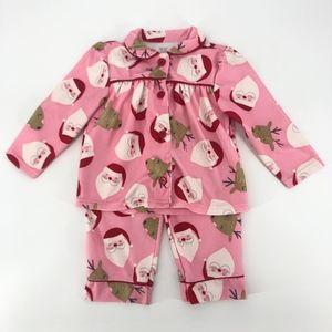 Carters Baby Girls Size 2T Pajamas